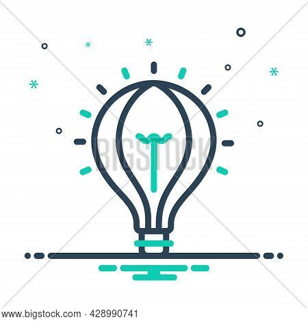 Mix Icon For Idea Conclusion Enterprising Visionary Concept Consideration Lelectric Creative Suggest