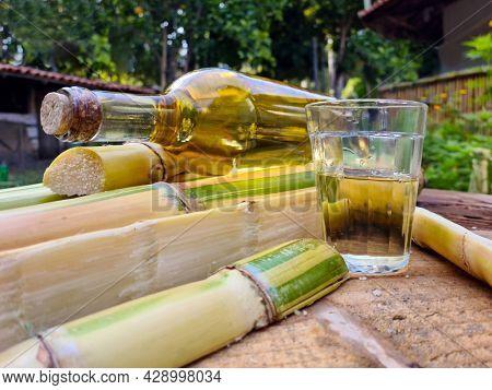 Brazilian drink known as Cachaça,