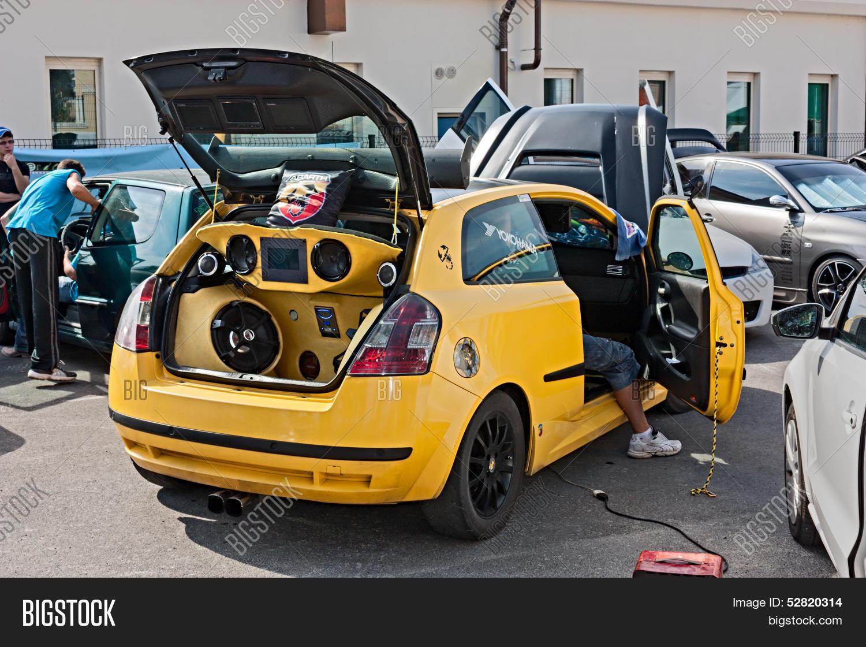 Car Sound System Image Photo Free Trial Bigstock