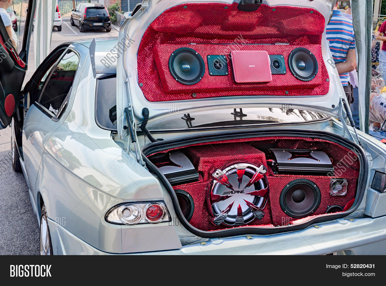 Car Sound Systems >> Car Sound System Image Photo Free Trial Bigstock