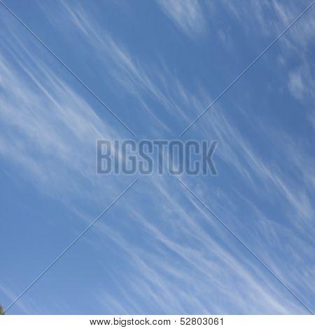 wispy sky