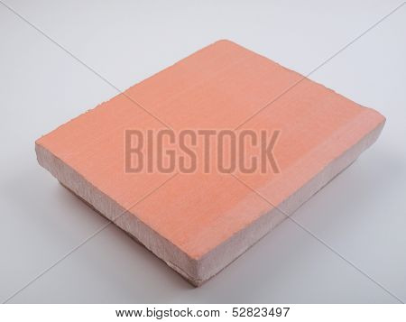 Rigid polystyrene panel for wall and roof insulation poster
