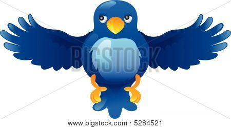 Ing Blue Bird Icon