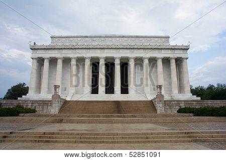 Washinton DC, USA-Oct 22,2012 : Abraham Lincoln Memorial, Washington D.C., USA