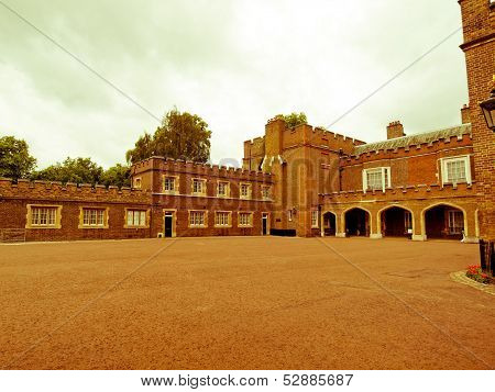 Retro Looking St James Palace