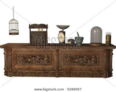 Magic Shoppe Counter
