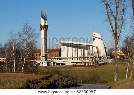 Cracow Lagiewniki - The Divine Mercy Sanctuar