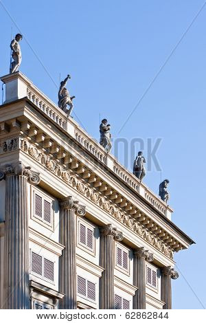 Balustrade In Milan