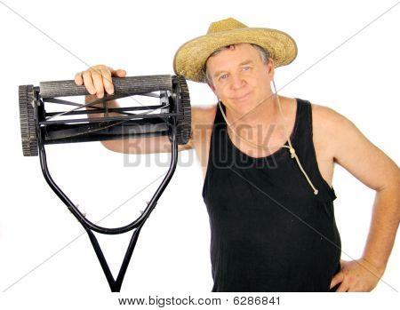Lawn Mower Gardener