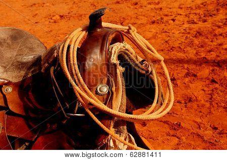A Nice Image of a Navajo Western saddle