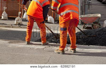 Workers Of The Asphalt