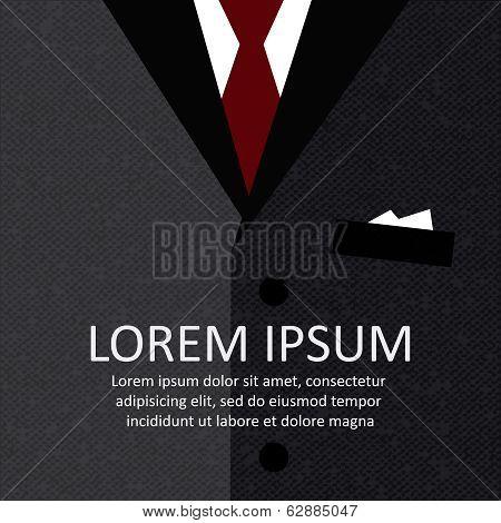 Business suit background