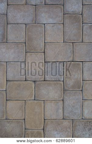 Multi-Colored Pavers Hardscape