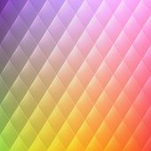 Vector abstract rhombus geometrical color beautiful background poster