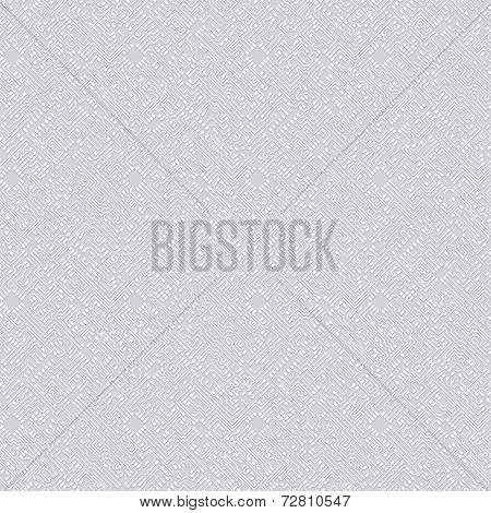 Seamless Pattern In Technological Hi-tech Style. Vector Background