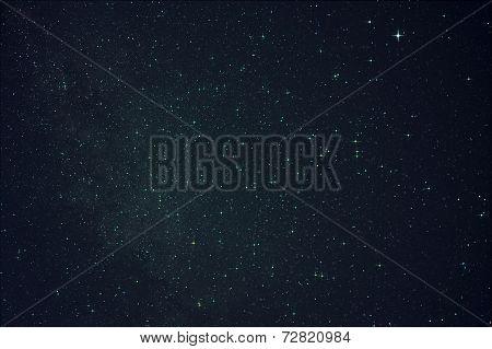 Starfield With Lyra And Vega