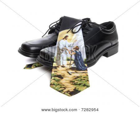 Business Man Religion Theme