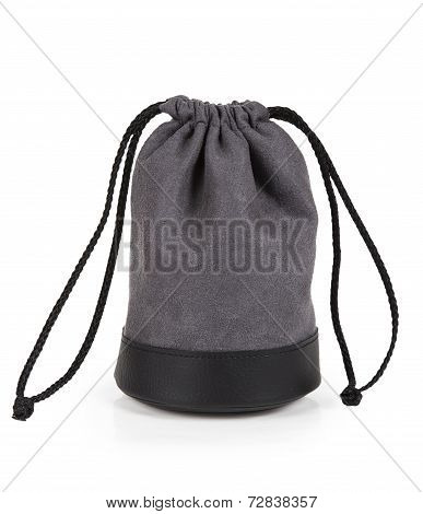 Grey Pouch With Lens