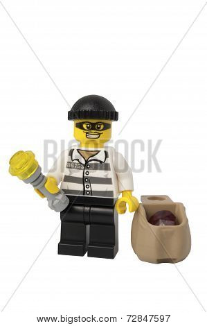 Thief Lego Minifigure
