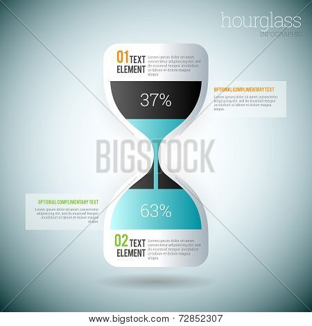 Hourglass Infographic