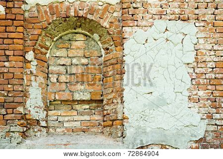 Old Wall Of The Ancient Building