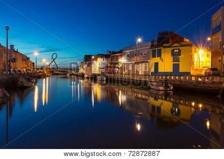 Aveiro City by night