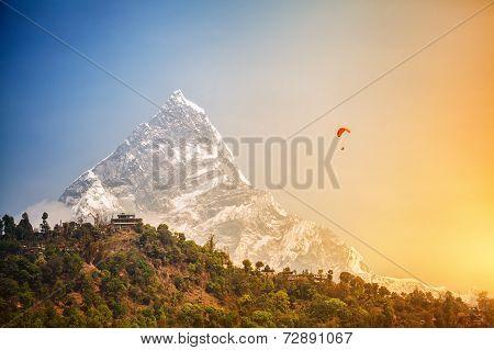 Paragliding In Himalaya