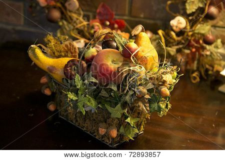Fall Harvest Fruit Bouquet