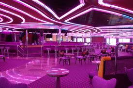 Disco on a cruise