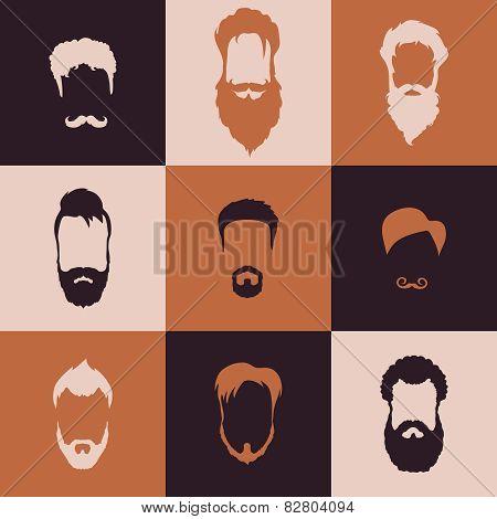 Beards set