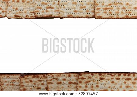 Traditional Jewish holiday food - Passover matzo