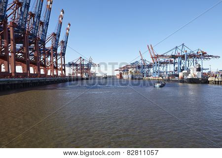 Hamburg - Port Waltershof