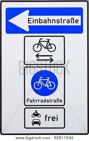 Complex One-way Road
