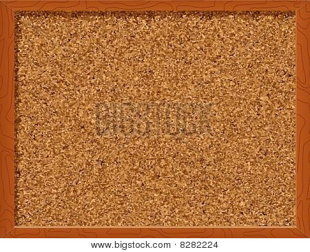 Corkboard - vector illustration