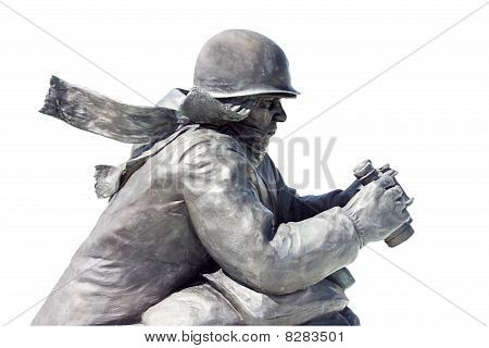 Lookout Soldier Statue