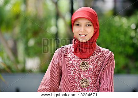 Indonesian Young Woman