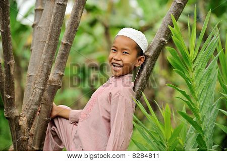 Happy  Child Outdoor