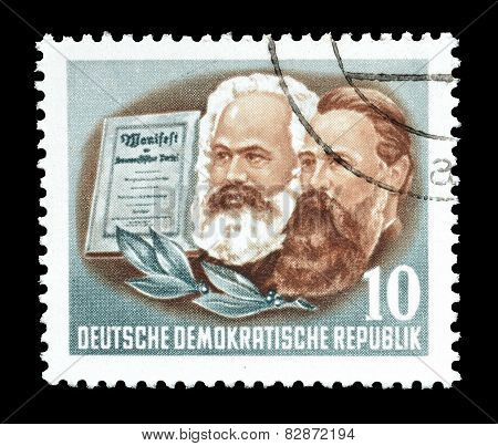 Marx and Engels 1953
