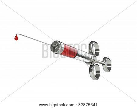 Syringe 3d