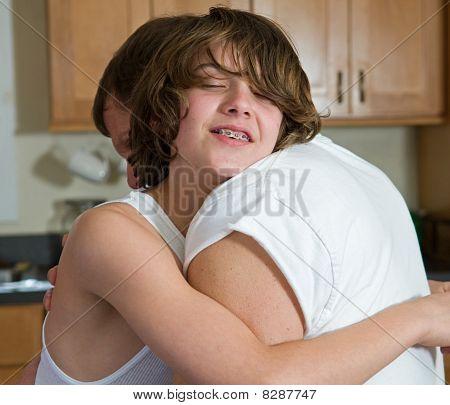 emotional hug