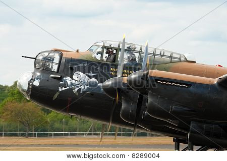 Bomber Cockpit