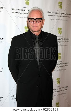 LOS ANGELES - JUN 2:  Malcolm McDowell at the United Friends of the Children Brass Ring Awards Dinner at the Beverly Hilton Hotel on June 2, 2015 in Beverly Hills, CA