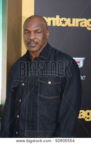 LOS ANGELES - MAY 27:  Mike Tyson at the
