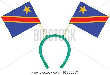 Witty Headdress Flags Congo