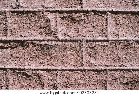 Background decorative plaster, bricks