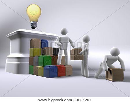 Reaching for an idea
