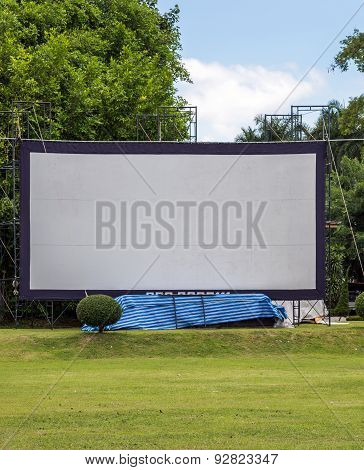 Large Movie Screen
