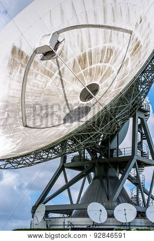 Satellite Dish For Use Of Intercontinental Telecommunications And Internet Traffic