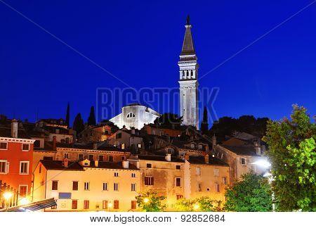 Old Town Of Rovinj On Istrian Peninsula, Croatia