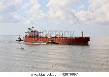 Cargo Ship 2 Boats Tourist Boat